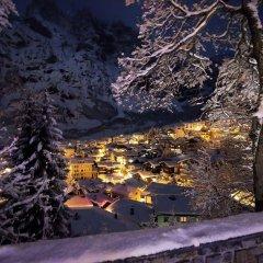 Отель Les Sources Des Alpes спортивное сооружение