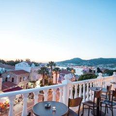 Menendi Otel Турция, Фоча - отзывы, цены и фото номеров - забронировать отель Menendi Otel онлайн бассейн