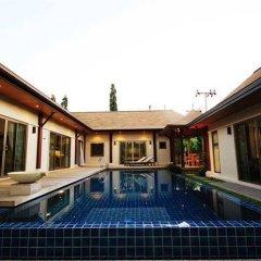 Отель Two Villas Holiday Oriental Style Layan Beach Таиланд, пляж Банг-Тао - отзывы, цены и фото номеров - забронировать отель Two Villas Holiday Oriental Style Layan Beach онлайн бассейн фото 2