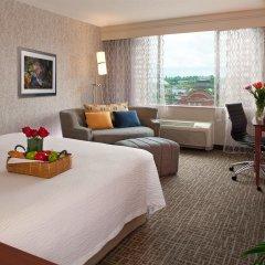Отель Courtyard by Marriott Tacoma Downtown США, Такома - отзывы, цены и фото номеров - забронировать отель Courtyard by Marriott Tacoma Downtown онлайн комната для гостей фото 2