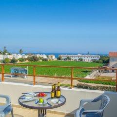 Отель Konnos 2 Bedroom Apartment Кипр, Протарас - отзывы, цены и фото номеров - забронировать отель Konnos 2 Bedroom Apartment онлайн балкон