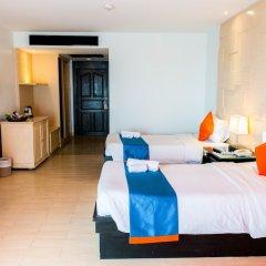 Отель Sea Breeze Jomtien Resort комната для гостей фото 6