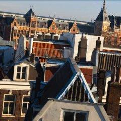 Отель Renaissance Amsterdam Hotel Нидерланды, Амстердам - 12 отзывов об отеле, цены и фото номеров - забронировать отель Renaissance Amsterdam Hotel онлайн балкон