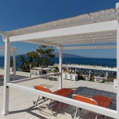 Отель Sunset Suites Албания, Саранда - отзывы, цены и фото номеров - забронировать отель Sunset Suites онлайн пляж фото 3
