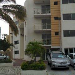 Отель Residencial D'Alessandro Бока Чика парковка