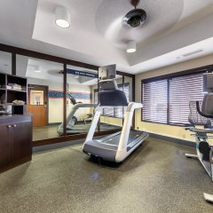 Отель Hampton Inn Memphis/Collierville фитнесс-зал фото 3