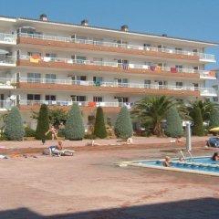Отель Апарт-Отель Europa Испания, Бланес - 2 отзыва об отеле, цены и фото номеров - забронировать отель Апарт-Отель Europa онлайн пляж фото 2