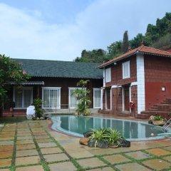 Отель Pride Sun Village Resort And Spa Гоа бассейн