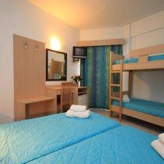 Отель Moschos Hotel Греция, Родос - отзывы, цены и фото номеров - забронировать отель Moschos Hotel онлайн комната для гостей фото 3
