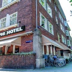 Отель The Delphi - Amsterdam Townhouse Амстердам вид на фасад