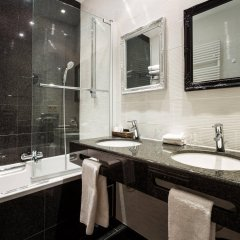 Отель Die Swaene Hotel Бельгия, Брюгге - 1 отзыв об отеле, цены и фото номеров - забронировать отель Die Swaene Hotel онлайн ванная фото 2