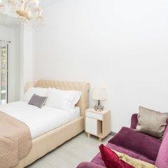 Отель Rental in Rome Augustus Terrace Deluxe комната для гостей