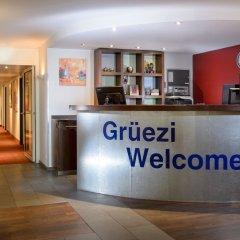 Apart-Hotel Zurich Airport интерьер отеля