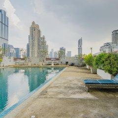 Отель Sathorn Grace Serviced Residence Таиланд, Бангкок - отзывы, цены и фото номеров - забронировать отель Sathorn Grace Serviced Residence онлайн бассейн