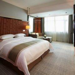 Отель Ramada Plaza Shanghai Pudong Airport Китай, Шанхай - отзывы, цены и фото номеров - забронировать отель Ramada Plaza Shanghai Pudong Airport онлайн комната для гостей фото 3