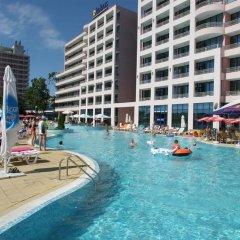 Отель Globus - Half Board Болгария, Солнечный берег - отзывы, цены и фото номеров - забронировать отель Globus - Half Board онлайн бассейн фото 3