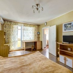 Гостиница Domumetro na Bolotnikovskoy комната для гостей