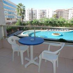 Отель Olympus Palace Испания, Салоу - 4 отзыва об отеле, цены и фото номеров - забронировать отель Olympus Palace онлайн балкон