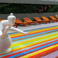 Отель ibis Styles Bangkok Khaosan Viengtai бассейн