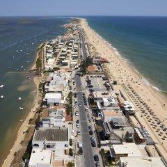 Hotel Faro & Beach Club пляж