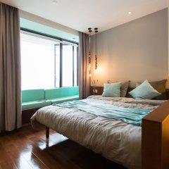 Отель MORE Residence Guangzhou Huaqiaoxincun комната для гостей фото 5