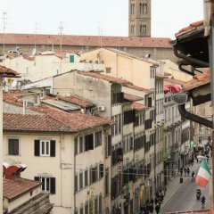 Отель Romagna Италия, Флоренция - 6 отзывов об отеле, цены и фото номеров - забронировать отель Romagna онлайн балкон