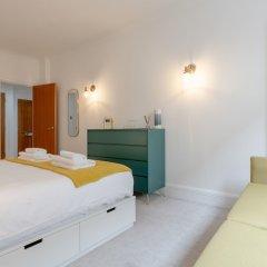 Отель Central London 1 Bedroom Flat With Spa Access Великобритания, Лондон - отзывы, цены и фото номеров - забронировать отель Central London 1 Bedroom Flat With Spa Access онлайн комната для гостей фото 4