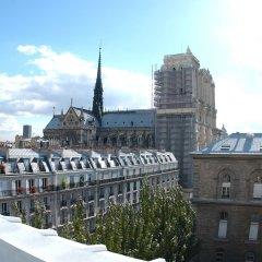 Отель Hôtel Hospitel Париж балкон