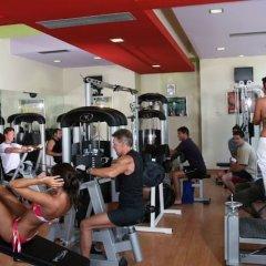 Cathrin Hotel фитнесс-зал