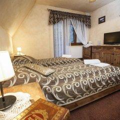 Отель Dwór Karolówka Польша, Закопане - отзывы, цены и фото номеров - забронировать отель Dwór Karolówka онлайн комната для гостей фото 4