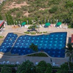 Отель Jomtien Beach Condominium Паттайя бассейн