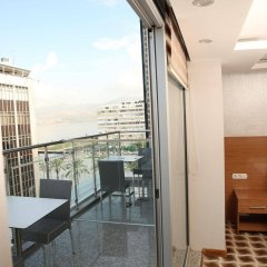 Way Hotel Турция, Измир - отзывы, цены и фото номеров - забронировать отель Way Hotel онлайн балкон