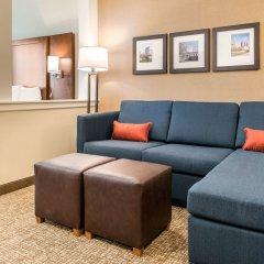 Отель Comfort Suites Columbus Airport США, Колумбус - отзывы, цены и фото номеров - забронировать отель Comfort Suites Columbus Airport онлайн комната для гостей фото 2