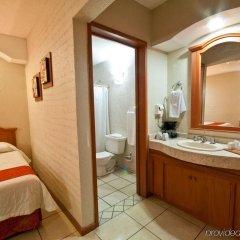 Hotel Malibu Гвадалахара ванная