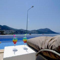Mini Saray Hotel пляж фото 2