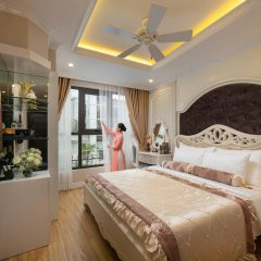Отель Hanoi Old Centre Hotel Вьетнам, Ханой - отзывы, цены и фото номеров - забронировать отель Hanoi Old Centre Hotel онлайн комната для гостей фото 4