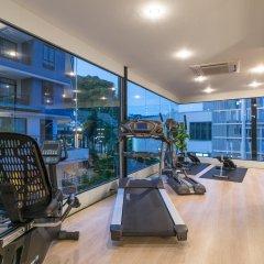 Отель AVA Sea Resort фитнесс-зал