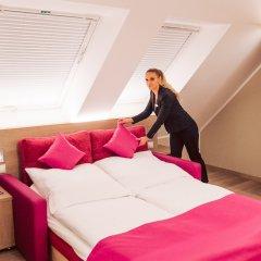 Отель Luckys Inn GmbH Германия, Гамбург - отзывы, цены и фото номеров - забронировать отель Luckys Inn GmbH онлайн комната для гостей фото 2