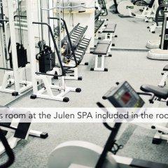 Отель Romantik Hotel Julen Superior Швейцария, Церматт - отзывы, цены и фото номеров - забронировать отель Romantik Hotel Julen Superior онлайн фитнесс-зал фото 2