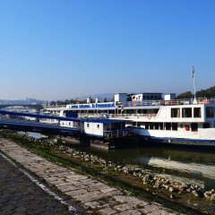 Fortuna Boat Hotel Будапешт приотельная территория