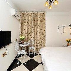 Отель Xiamen Haixi Haibian Holiday Inn комната для гостей