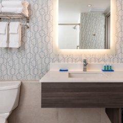 Отель Holiday Inn Express Quebec City - Sainte Foy Канада, Квебек - отзывы, цены и фото номеров - забронировать отель Holiday Inn Express Quebec City - Sainte Foy онлайн ванная фото 2