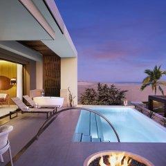 Отель Hard Rock Hotel Los Cabos - All inclusive Мексика, Кабо-Сан-Лукас - отзывы, цены и фото номеров - забронировать отель Hard Rock Hotel Los Cabos - All inclusive онлайн бассейн