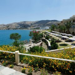 Отель Lindos Royal-All Inclusive пляж