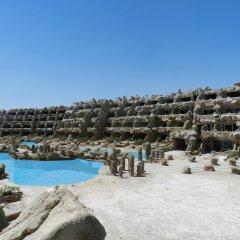 Отель Caves Beach Resort Hurghada - Adults Only - All Inclusive бассейн