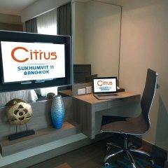Отель Citrus Sukhumvit 11 Bangkok by Compass Hospitality интерьер отеля