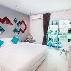 Отель The Crib Patong 3* Улучшенный номер с различными типами кроватей