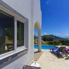 Villa Burak Турция, Калкан - отзывы, цены и фото номеров - забронировать отель Villa Burak онлайн балкон