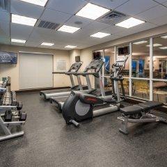 Отель Fairfield Inn & Suites Meridian фитнесс-зал фото 3