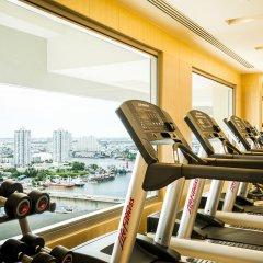 Отель AVANI Riverside Bangkok Hotel Таиланд, Бангкок - 1 отзыв об отеле, цены и фото номеров - забронировать отель AVANI Riverside Bangkok Hotel онлайн фитнесс-зал фото 2